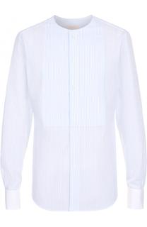 Хлопковая рубашка с декоративной отделкой Valentino