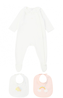 Комплект из пижамы и двух нагрудников Chloé