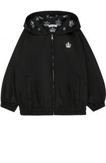 Куртка на молнии с капюшоном Dolce & Gabbana