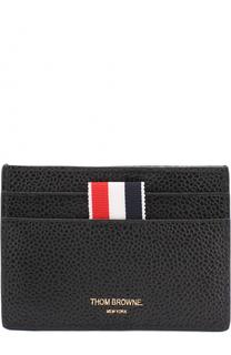 Кожаный футляр для кредитных карт с контрастной отделкой Thom Browne
