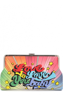 Клатч Love To Love с вышивкой бисером Sarah's Bag