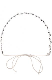 Повязка для волос с кристаллами Jennifer Behr