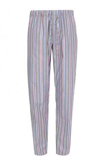 Хлопковые домашние брюки свободного кроя Hanro