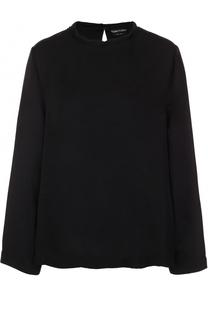 Блуза прямого кроя с круглым вырезом Tom Ford