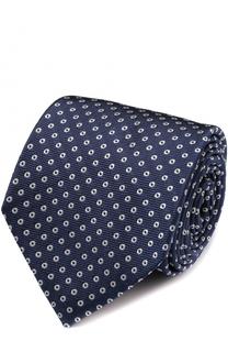 Шелковый галстук с узором Churchs