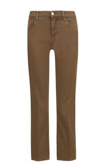Укороченные расклешенные джинсы со стрелками J Brand