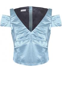 Топ с V-образным вырезом и открытыми плечами Dries Van Noten