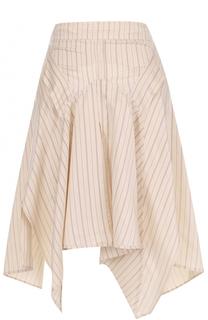 Мини-юбка в полоску асимметричного кроя Isabel Marant