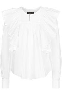 Блуза свободного кроя с оборками Isabel Marant