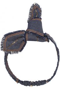 Повязка для волос с бантом и стразами Colette Malouf