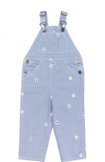 Комбинезон из денима с вышивками Stella McCartney