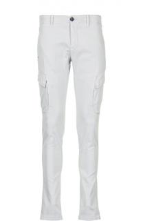 Хлопковые брюки с накладными карманами Stone Island