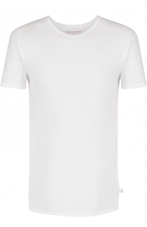 Хлопковая футболка с круглым вырезом Derek Rose