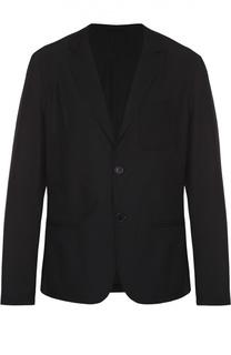 Утепленная куртка с лацканами Dirk Bikkembergs