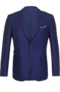 Шерстяной однобортный пиджак Baldessarini