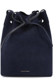 Замшевая сумка Bucket Mansur Gavriel
