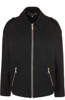 Куртка с отложным воротником и вышивкой на спинке Kenzo