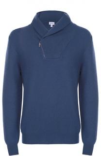 Кашемировый свитер с шалевым воротником Brioni