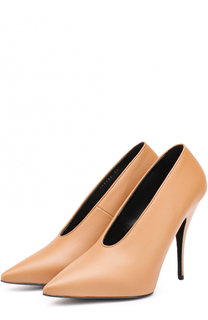 Туфли из эко-кожи с неглубоким вырезом на шпильке Stella McCartney