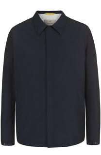 Куртка на кнопках с отложным воротником Canali