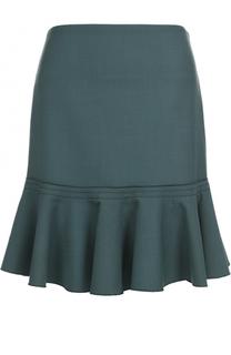 Мини-юбка с оборкой Victoria by Victoria Beckham