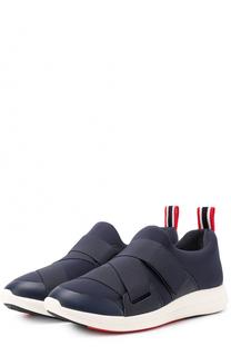 Текстильные кроссовки с ремешками Tory Burch