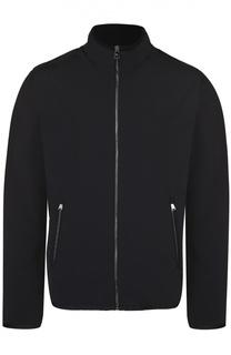 Утепленная куртка на молнии с воротником-стойкой Ralph Lauren