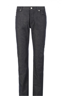 Джинсы прямого кроя с вышивкой на заднем кармане Dolce & Gabbana