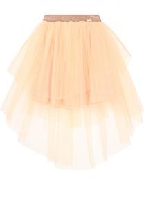 Многоярусная пышная юбка Jean Paul Gaultier