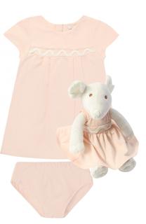 Комплект из платья и трусов с игрушкой Chloé