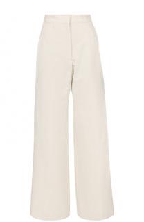 Широкие брюки с завышенной талией Dries Van Noten