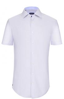 Хлопковая сорочка с короткими рукавами Jacques Britt
