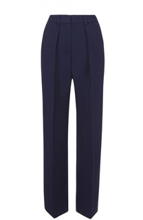 Широкие брюки прямого с защипами MSGM