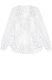 Кружевная полупрозрачная блуза свободного кроя Alice McCall