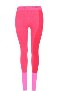 Спортивные леггинсы с контрастной отделкой Adidas by Stella McCartney
