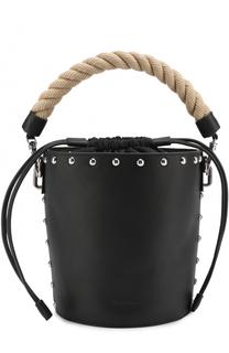 Сумка Bucket с плетеной ручкой J.W. Anderson
