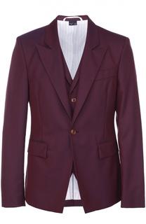 Шерстяной однобортный пиджак Vivienne Westwood