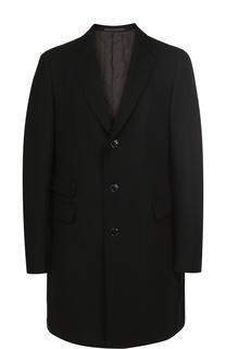 Шерстяное однобортное пальто Pal Zileri