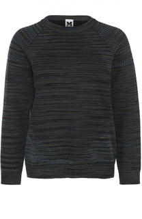 Пуловер прямого кроя с круглым вырезом M Missoni