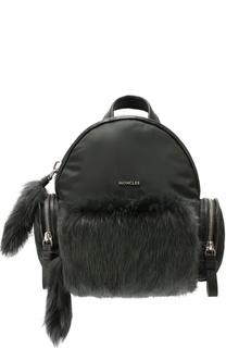 Рюкзак с отделкой из меха Moncler