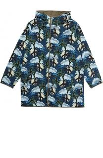 Куртка с принтом и капюшоном Stella McCartney