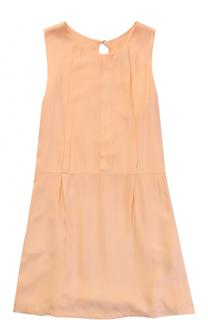 Платье с фигурной отделкой на спинке Chloé