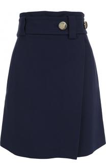 Мини-юбка А-силуэта с широким поясом Tara Jarmon