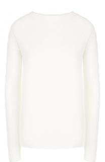Кашемировый пуловер с декорированными рукавами The Row