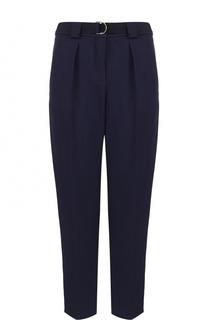 Укороченные брюки с защипами и поясом Tara Jarmon