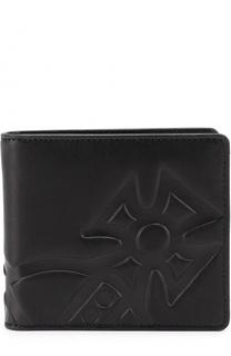 Кожаное портмоне с декоративной отделкой Vivienne Westwood