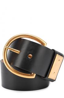 Кожаный ремень с металлической пряжкой Tom Ford