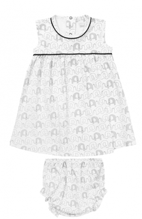 Комплект из платья и трусов с принтом Kissy Kissy