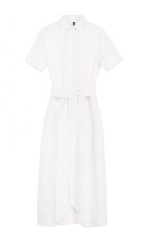 Кружевное платье-рубашка с поясом Lisa Marie Fernandez