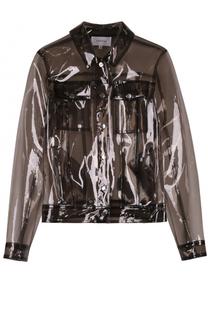 Куртка прямого кроя с накладными карманами Carven